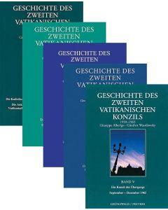 Gesamtwerk »Geschichte des Zweiten Vatikanischen Konzils«