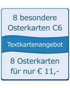 8 aktuelle Kondolenzkarten B6