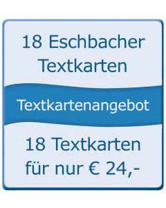 18 Eschbacher Textkarten