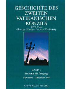 Geschichte des Zweiten Vatikanischen Konzils (1959–1965), Band V