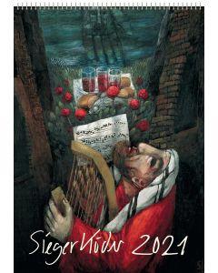 Sieger Köder Wandkalender 2021