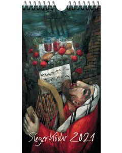 Sieger Köder Postkartenkalender 2021