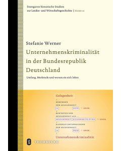 Unternehmenskriminalität in der Bundesrepublik Deutschland