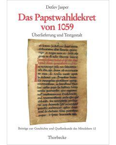 Das Papstwahldekret von 1059