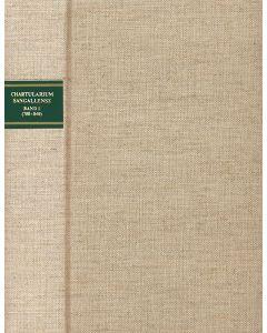 Chartularium Sangallense - Band I