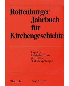 Rottenburger Jahrbuch für Kirchengeschichte 1983