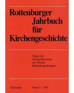 Rottenburger Jahrbuch für Kirchengeschichte 1984