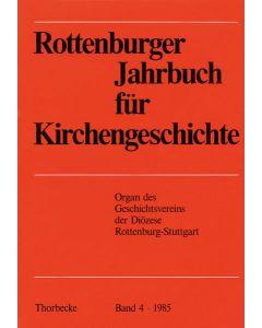 Rottenburger Jahrbuch für Kirchengeschichte 1985