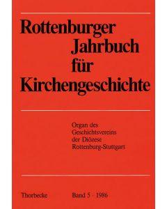 Rottenburger Jahrbuch für Kirchengeschichte 1986