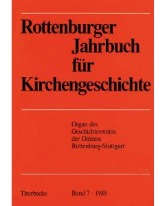 Rottenburger Jahrbuch für Kirchengeschichte 1988