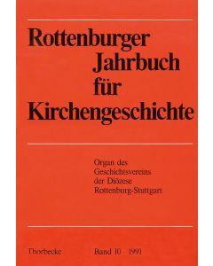 Rottenburger Jahrbuch für Kirchengeschichte 1991