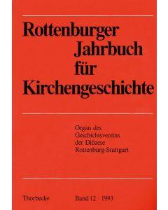 Rottenburger Jahrbuch für Kirchengeschichte 1993