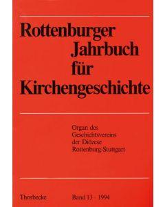 Rottenburger Jahrbuch für Kirchengeschichte 1994