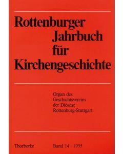 Rottenburger Jahrbuch für Kirchengeschichte 1995