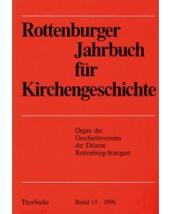 Rottenburger Jahrbuch für Kirchengeschichte 1996