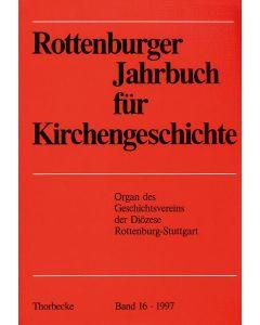 Rottenburger Jahrbuch für Kirchengeschichte 1997