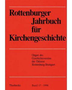 Rottenburger Jahrbuch für Kirchengeschichte 1998