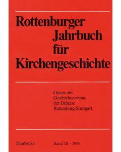Rottenburger Jahrbuch für Kirchengeschichte 1999
