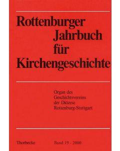 Rottenburger Jahrbuch für Kirchengeschichte 2000