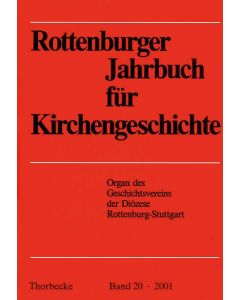 Rottenburger Jahrbuch für Kirchengeschichte 2001