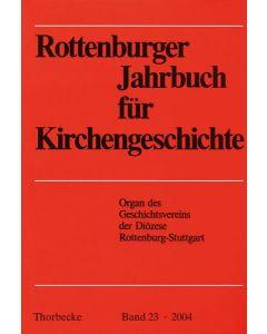 Rottenburger Jahrbuch für Kirchengeschichte 2004