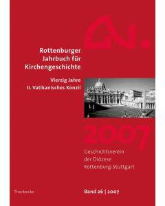 Rottenburger Jahrbuch für Kirchengeschichte 2007