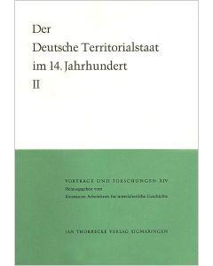 Der deutsche Territorialstaat im 14. Jahrhundert - Teil II