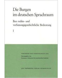 Die Burgen im deutschen Sprachraum