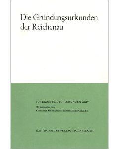Die Gründungsurkunden der Reichenau