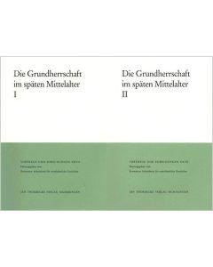 Die Grundherrschaft im späten Mittelalter - Teile I/II
