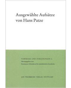 Ausgewählte Aufsätze von Hans Patze