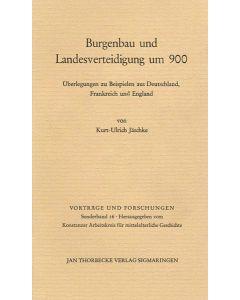 Burgenbau und Landesverteidigung um 900
