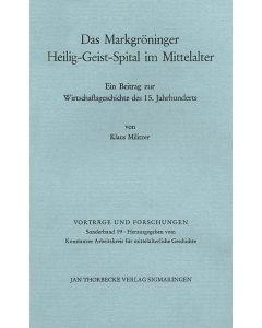 Geschichte des Markgröninger Heilig-Geist-Spitals im Mittelalter