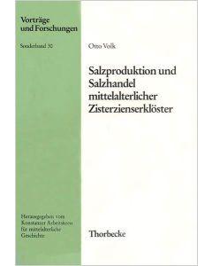 Salzproduktion und Salzhandel mittelalterlicher Zisterzienserklöster