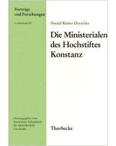 Die Ministerialen des Hochstiftes Konstanz