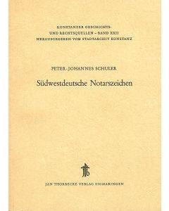 Südwestdeutsche Notarszeichen