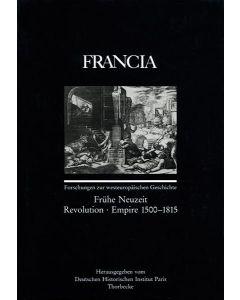 Francia, Band 18/2