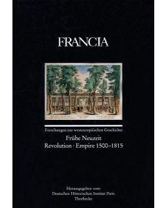 Francia, Band 25/2