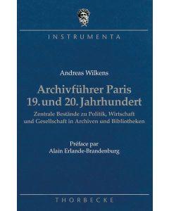 Archivführer Paris 19. und 20. Jahrhundert