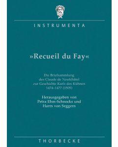 Recueil du Fay