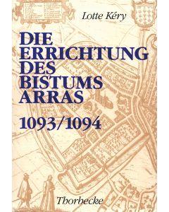 Die Errichtung des Bistums Arras 1093/1094