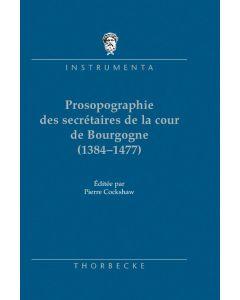 Catalogue prosopographique des secrétaires de la cour de Bourgogne