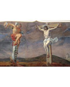 Jesus und der Schächer am Kreuz