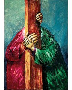 Jesus begegnet seiner Mutter
