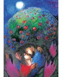 Unter dem Apfelbaum habe ich dich geweckt