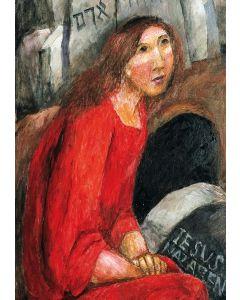 Maria von Magdala am offenen Grab