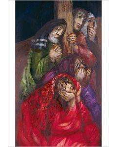 Freunde Jesu unter dem Kreuz