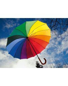 Fliegender Schirm