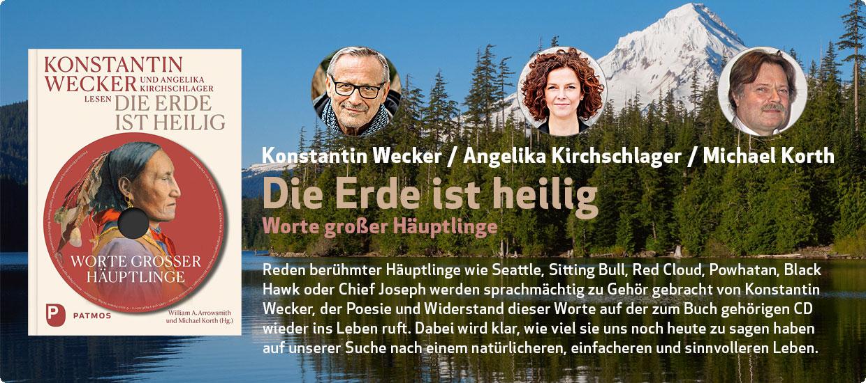 Konstantin Wecker / Angelika Kirchschlager: Die Erde ist heilig