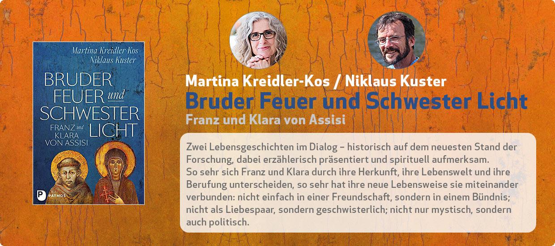 Martina Kreidler-Kos, Niklaus Kuster: Bruder Feuer und Schwester Licht